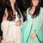 Bollywood @ 8 megapixels Katrina Kaif with Preity Zinta