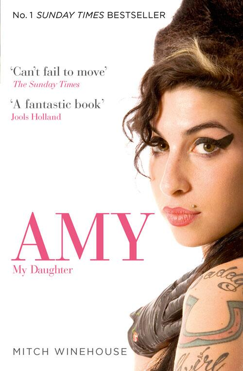 NEWS: The paperback of #AmyMyDaughter the official biography of Amy Winehouse is out today in the UK