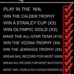 Help Me Complete my checklist! Tweet #NHL14Brodeur  I cant win without you guys! http://t.co/SAxyfytnuk