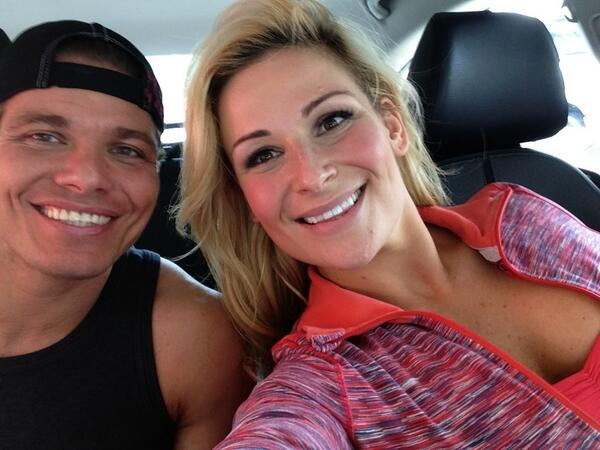 Tyson Kidd with beautiful, sexy, sympathetic, Wife Natalya