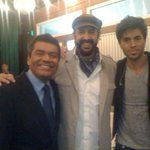 With George Lopez and Juan Luis Guerra... #tbt http://t.co/Qi7WgWhmtw