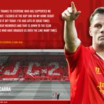 Colong lagi nih. :)) #supersoccermaling RT @LFC: Tribute to Carra by @dianqamajaya: http://t.co/GnKWiVyLAB