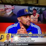 """@eddiewhite3: Showing @pacers love on @espn is our own @TheRealMikeEpps http://t.co/qpFmrODNmu"" our own small market celeb #HomeGrown"