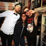 #meetandgreet w/ @BreatheCarolina @BreatheKyleEven @davidlovesit at @SoundCheckStore  #funnyfacessortof :) http://t.co/DO1jBTelJW