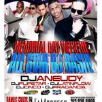 Saturday!Hottest DJs for Memorial Weekend bash Party @ElMoroccoNYC you cant miss LadieS free b4 1AM 212.939.0909 http://t.co/BWX7ySQJah