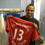 """@SouthamptonFC: Good luck with the show @CraigDavid! #saintsfc #craigdavidworldtour2013 http://t.co/JlkJIVUyji"" @KeithyD_88"