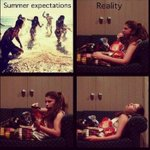 """@FunnyPicsDepot: Summer expectations vs Reality http://t.co/CKH3CxWRB8"""