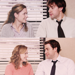 """@ElomanisaG: This is my favorite ever. @jennafischer & @johnkrasinski http://t.co/SeOeKNdNEZ"" Aww... Gonna miss the office 😞"