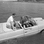 RT @littlecavin: #txst Did you know LBJ had an amphicar? He drove guests into the lake, screaming about the brakes. http://t.co/bhpgLcMqMV