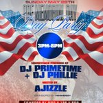 #PreMemorial Day #Day Party  #Sunday May 26th #Element Lounge @757djprimetime @DJPhillie04  @AJizzle757  @Zoo757 http://t.co/OJnWx1Erdl
