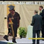 "RT @LaurDuhhPimps_: ""@FunnyPicsDepot: Graduation day imma be like http://t.co/23uAis6Jjz"" *cough cough* @YungBlockBusta"