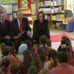 The PM and John Murphy MP reading to students at Auburn West Public School. #Nss13 #betterschools TeamJG http://t.co/QEIhM3J8nW