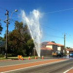 Burst water main corner of flinders and Morley drive in dianella. @9NewsPerth http://t.co/FusPCZhDi9