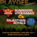 Tonights the night weve all been waiting for. #SRH vs RR.. Risers, lets show them what were made of http://t.co/xF1tNzbim7