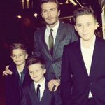 This makes my heart melt 😍 David Beckham. So cute! 😍 http://t.co/CLBTs9cAvT