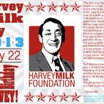 Its #HarveyMilkDay, learn more by following @HMilkFoundation. http://t.co/cPoduCCQMV