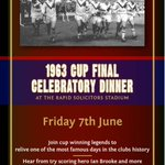 Great chance to meet & hear from the Legends of the game of #rugbyleague and have your photo with the Challenge Cup http://t.co/k9CgDKwODm