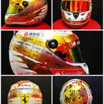 Here is Alonso @alo_oficial #MonacoGP helmet http://t.co/9OktKto2ez #F1