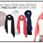 Buy any 2 items & get a free scarf (worth £45 over @AsquithLondon until 28 th May http://t.co/gmzDWlUNMK