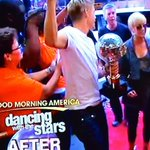 """ELVIS"" PICKLER arriving at Good Morning America for Dancing with the Stars celebration...She won but whats next? http://t.co/BPfXr9dxcx"