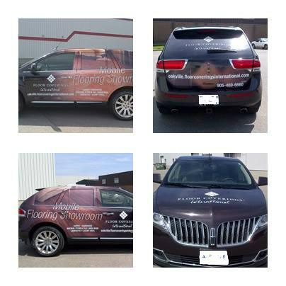 Floor Covering International Car Wrap, installed by Tyler Cook http://t.co/jDEThAhiIo