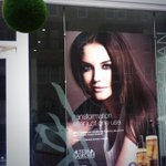 New salon window displays! Thanks to @DSignsHarrogate :) #alterna #KatieHolmes @SalonPromo @alternahaircare http://t.co/vEVgflzPzW