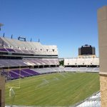 Far too few of these in CFB RT @tcusid The new grass field is now in place at TCUs Amon G. Carter Stadium. http://t.co/Un1pYNQUtm