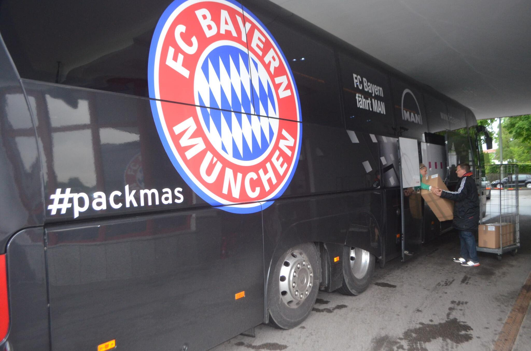 RT @FCBayern: #packmas  Final preparations at the Säbener Straße. #UCLfinal http://t.co/hH1NH5kc32