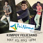 Cant wait to see everyone in Trinoma tomorrow!! 2PM at the Event Center! :D Got surprises para sa inyo! SEE YOU! ;)) http://t.co/v2sLn63Bfl