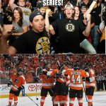 """@hockeymemes: Bruins up 3-0 http://t.co/pGFWfMauhd"" @Old_MilBotchie #Flyers"