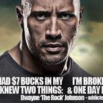 """@TheRock: True story. Our grind never stops..  #BloodSweatAndRespect http://t.co/1xrVCHNIYD"" Respect."