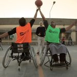 Training for #wheelchairbasketball national tournament (23 - 25 May) @ICRC Ortho. Centre - Kabul, #Afghanistan http://t.co/9EwMLhMQXl