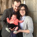 Aww RT @shirleeengel:New family! #NDPs George Soule&MP Rosane Lefebvre bring daughter Madeleine to Hill for 1st time http://t.co/kCiqUJoEge