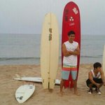 [PIC] 130522 Donghae & Siwon on the beach (c)ghtjs6088,HAE_GIRLS http://t.co/wJqLQ6gQzv