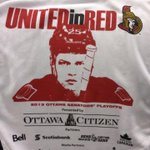 Chris Neil makes an appearance on tonights rally towels http://t.co/VDIp2WZdFy