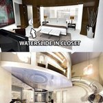 Ah this is soo doable :p RT @ThatsEarth: Water slide in the closet.