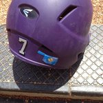 Frogs showing their support for Oklahoma on their helmets. http://t.co/We9qEFBS3o