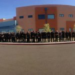 AMAZING by @phoenixpolice. Entire dept at fallen officers daughters kindergarten graduation to show family support http://t.co/5aVYzsTD8b