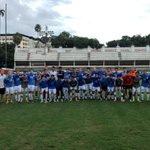 Todays game couldnt have been in a more picturesque venue #HeelsinBrazil http://t.co/ExxLl5M47A