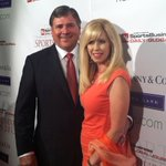 RT @McMurphyESPN: RT @SBJSBD: From #sbjsba red carpet with nominee Tom Jurich, Louisville AD and wife Terrilynn. http://t.co/5uAQaNqY3I