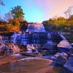 "I love Albion Falls! So beautiful RT ""@JeremyGlobalTV Albion Falls in #Hamilton just after sunset. @cityofwaterfall http://t.co/5DFBZu067g"""