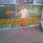 RT @midemigod: @AnandRanga #DKBose audio super hit poster opp my house