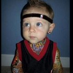 "Not sure if this is tragic or adorable RT ""@CharissaT: Baby Birdman must be so happy right now.... http://t.co/waomccGPqL"""