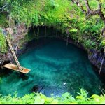RT @ThatsEarth: Tosua Pool, Samoa