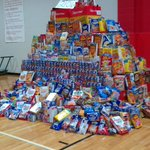 13th annual Summer Cereal Drive begins! RT @TBBrannon A mountain of cereal at Cabot Jr. High South this morning! http://t.co/0UPofhv35u