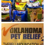Were starting day 2 of our @BellaFoundation @valleynewslive Oklahoma Pet relief drive! Stop by donate and say hi! http://t.co/6actiKSPVy
