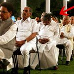 RT @moonsez: Does your job bore you? You can't beat this -->Karnataka CM Siddaramaiah at the UPA meet