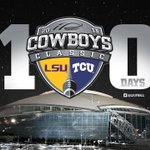 RT @LSUfball: 100 days until we kickoff 2013! #LSUROAR http://t.co/LH1uKGSStd