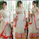 RT @FaFatimahisham: At Cannes @ameesha_patel in Indo chic outfits by ace designer @ManishMalhotra1