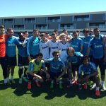 Up there with some of the best days of my life! Training with Real Madrir !dreams are made of that stuff http://t.co/w7HwZ1PBb1